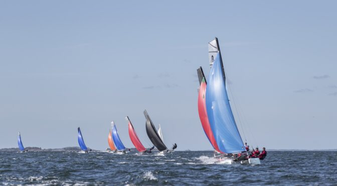 44 sailors from 8 countries gather in Stockholm