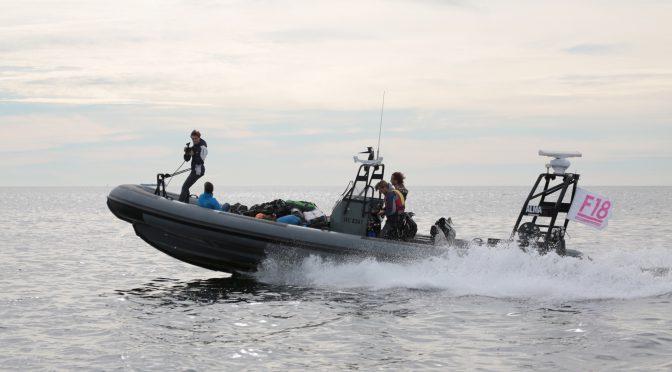 Nautical Channel to film F18 Raid Worlds
